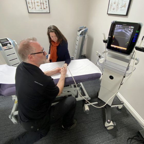 Exploring the condition with ultrasound imaging